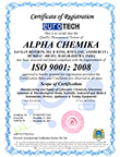 Alpha Chemika Specification Manual